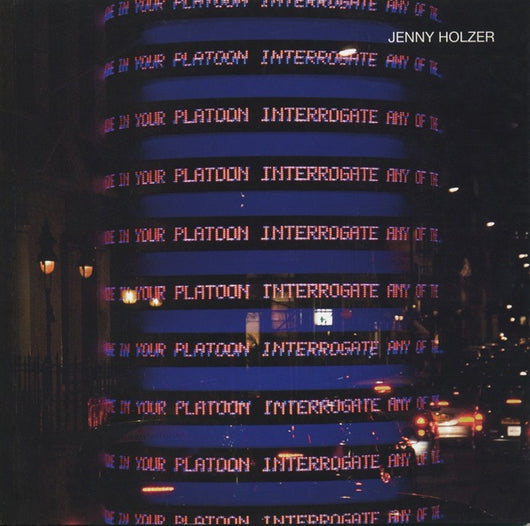 Jenny Holzer catalogue