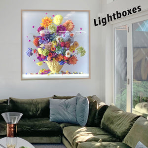 Lightboxes ...