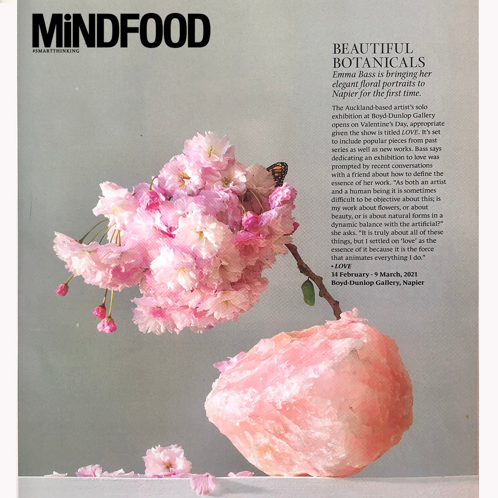 Love in Mindfood MAGAZINE