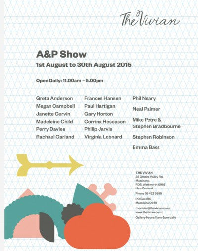 A&P Show Invitation
