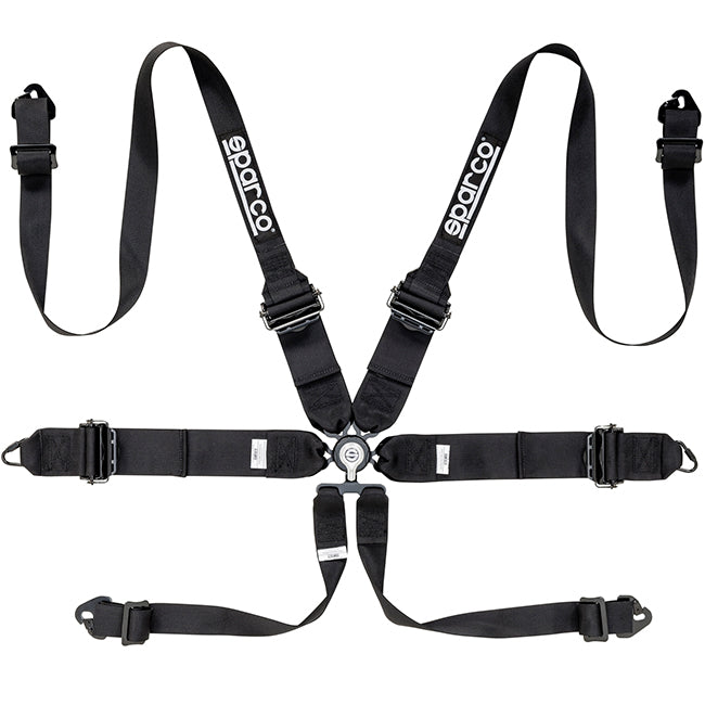 "Sparco 6 Point HANS 3""/2"" Harness (Aluminum)"