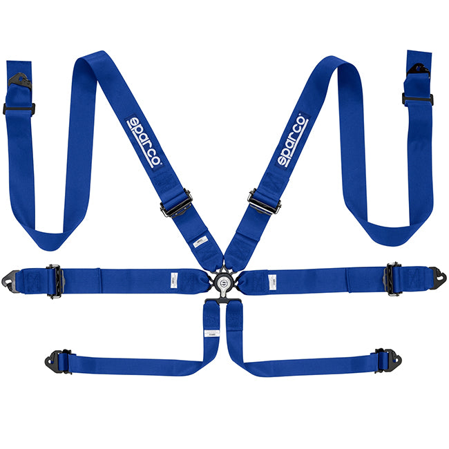 "Sparco 6 Point 3"" Harness (Aluminum)"