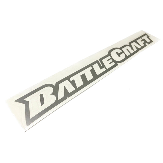 BattleCraft Logo Die-Cut Stickers 11""