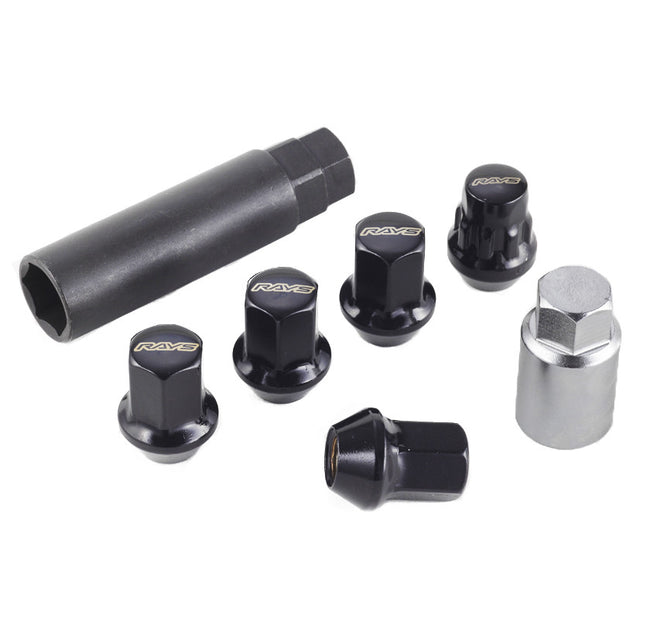 RAYS 17 Hex Lug Nut and Lock Set