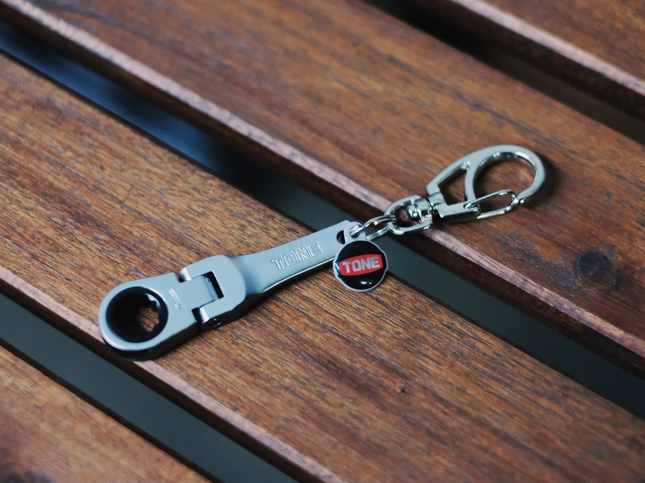 TONE Tools Japan 10mm Ratcheting Keychain