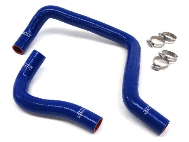 HPS Reinforced Radiator Hose Kits Blue