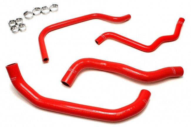 HPS Reinforced Radiator Hose Kits Red