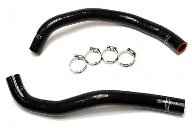 HPS Reinforced Radiator Hose Kits Black