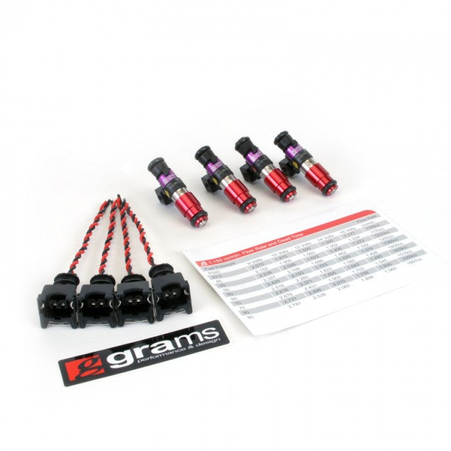 Grams Fuel Injector Kit for K-series and 06-09 S2000