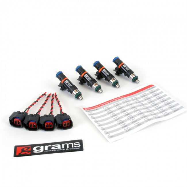 Grams Fuel Injector Kit for 00-05 S2000