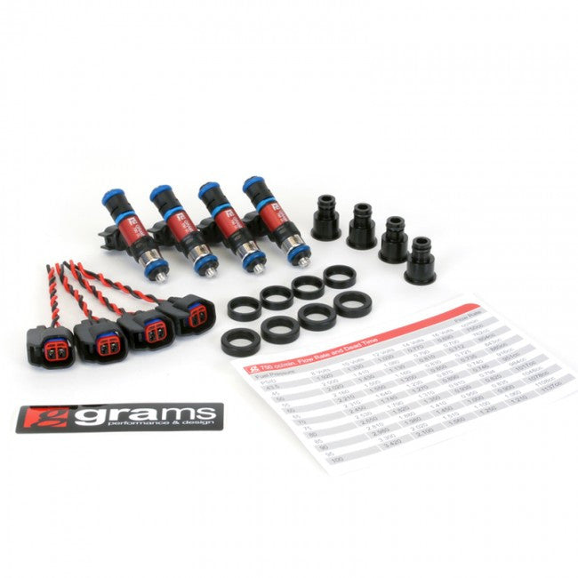 Grams Fuel Injector Kit for B/D/F/H-series
