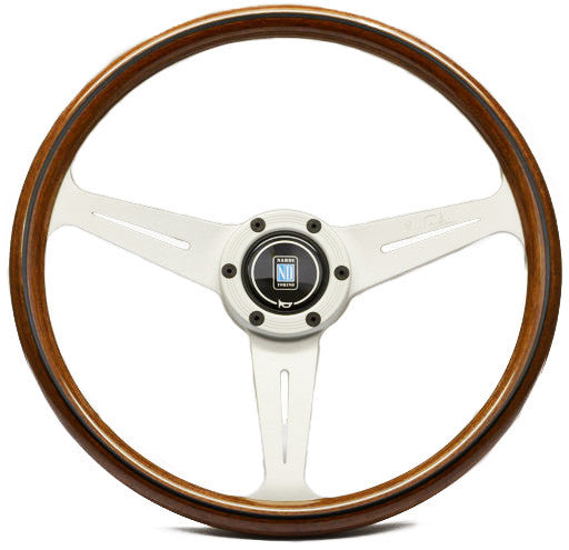 Nardi Classic Wood with White Anodized Spokes (Screws at Sight)