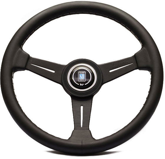 Nardi Classic Leather with Black Anodized Spokes