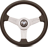 Nardi Classic Leather with White Anodized Spokes