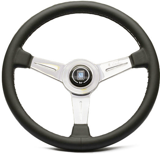 Nardi Classic Leather with Glossy (Polished) Spokes