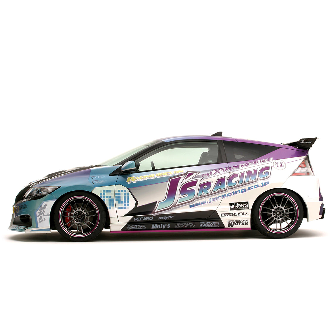 J's Racing Street Version (Type S) Side Skirts for CRZ