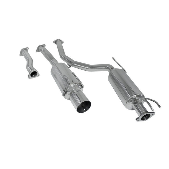 DC Sports Stainless Steel Cat-back Exhaust System