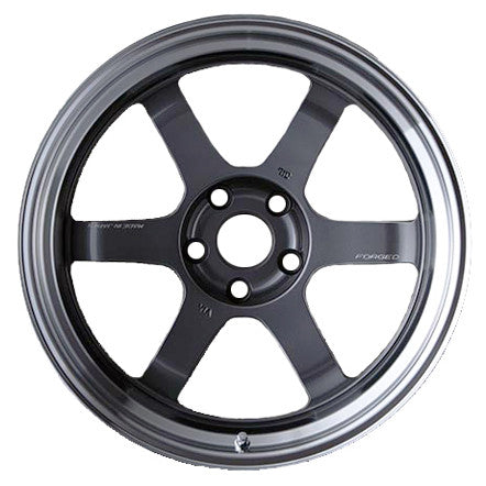 VOLK Racing TE37V Gunmetal w/ Diamond Cut Lip