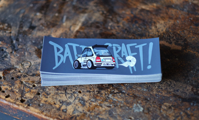 BattleCraft x @studytuned EK v1.0 Sticker