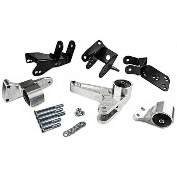 HYBRID RACING  Aluminum K-series Swap Mount Kit for EK with EG/DC Subframe