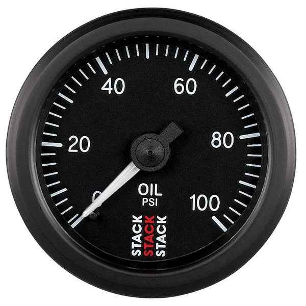 Stack Pro Stepper Motor Analogue Gauge - Oil Pressure