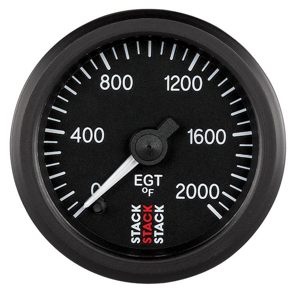Stack Pro Stepper Motor Analogue Gauge - Exhaust Temperature