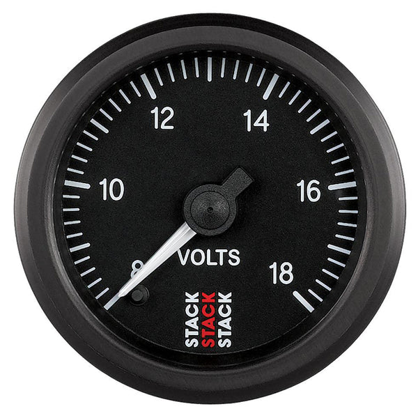 Stack Pro Stepper Motor Analogue Gauge - Voltage