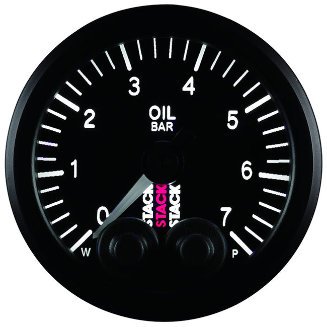 Stack Pro-Control Analogue Gauge - Oil Pressure