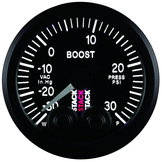 Stack Pro-Control Analogue Gauge - Boost Pressure