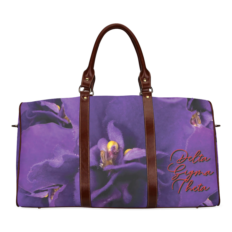 Violet Waterproof Duffel Bag