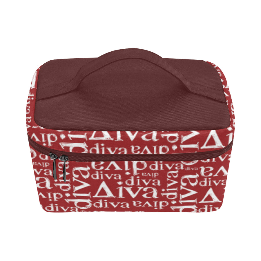 Red Diva Toiletry Bag