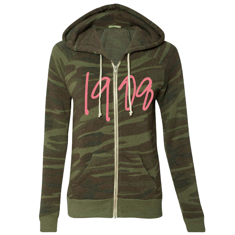 1908 Camo Fleece Jacket