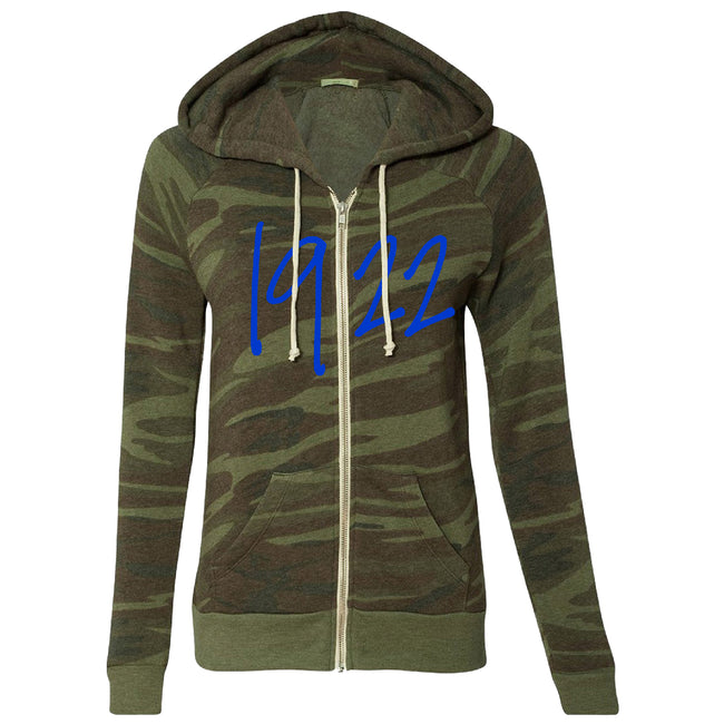 1922 Camo Fleece Jacket