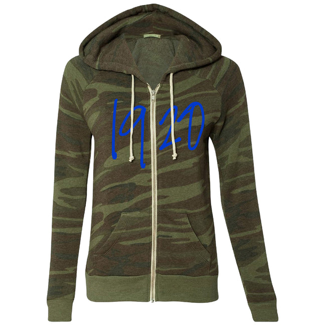1920 Camo Fleece Jacket