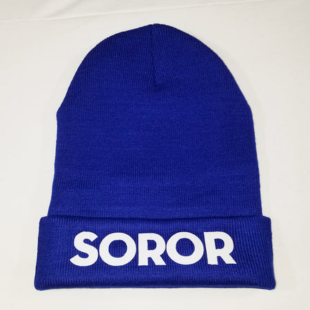 Royal Blue Soror Beanie