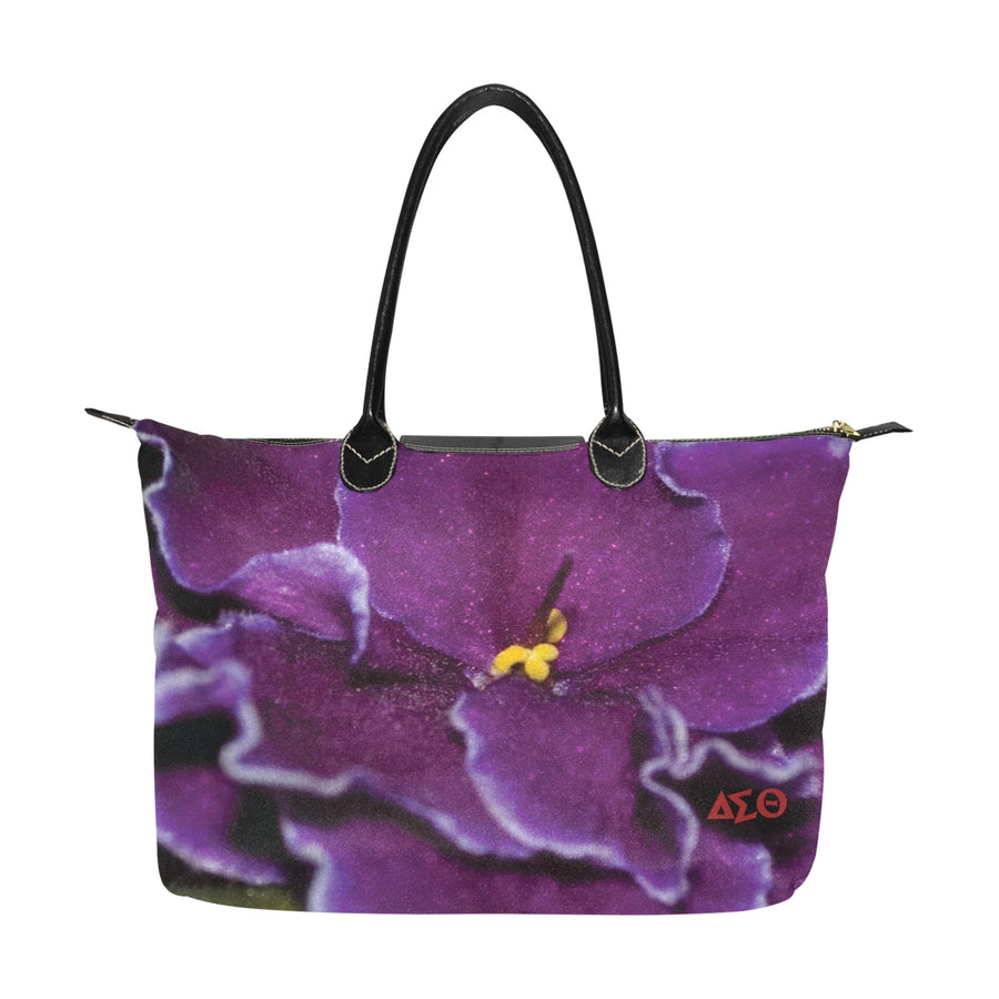 African Violet Hobo Tote