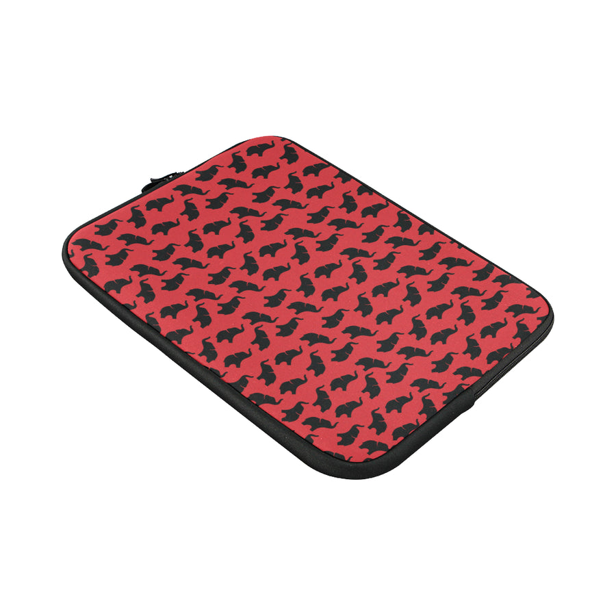 Red Elephant Laptop Sleeve 15''