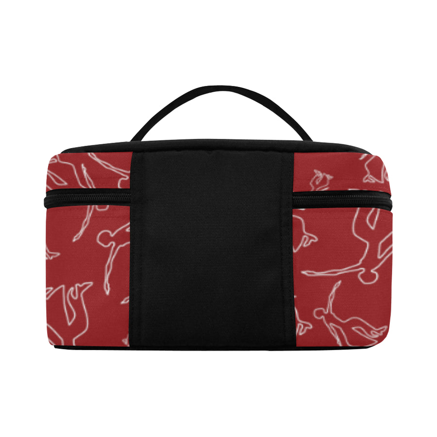 Red Fortitude Toiletry Bag