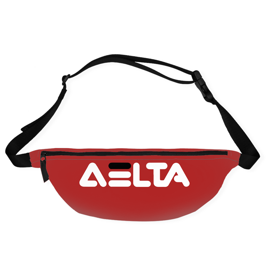 Red Fila Delta Fanny Packs