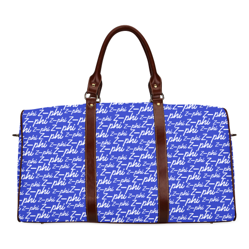 Royal Blue Z-Phi Waterproof Duffel Bag - Small