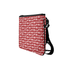 Red OO-OOP Clutch w Straps