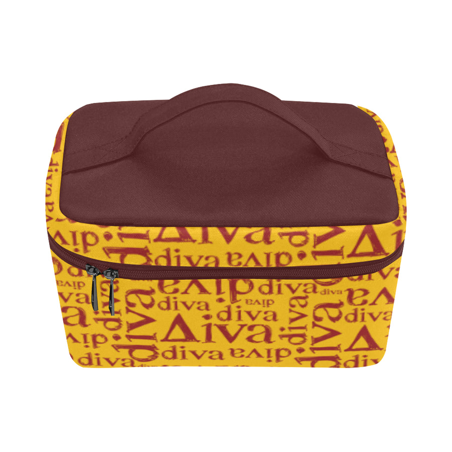 Gold Diva Toiletry Bag