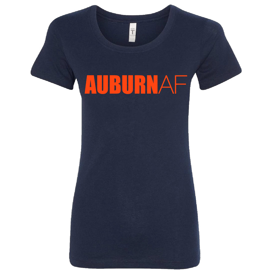 Short Sleeve Ladies AuburnAF Tee