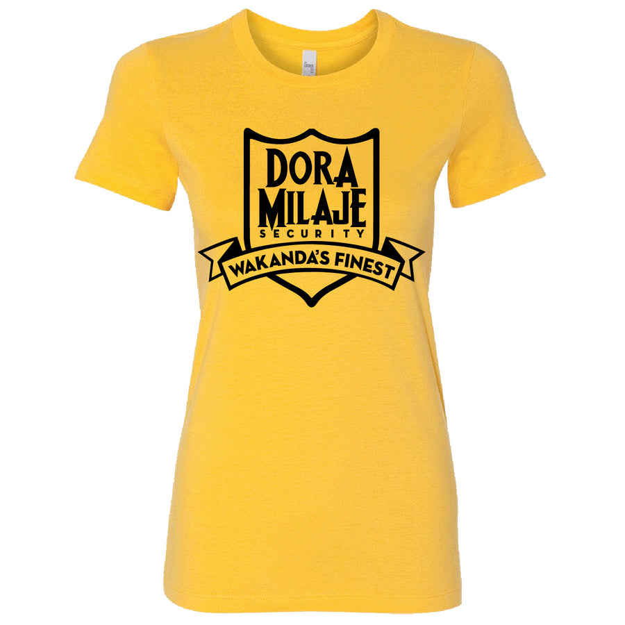 Short Sleeve Dora Milaje Security Tee