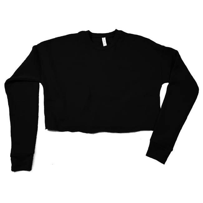 BAS Cropped Fleece Sweatshirt