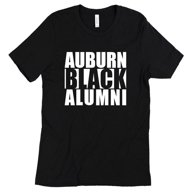Short Sleeve Auburn Black Alumni Tee