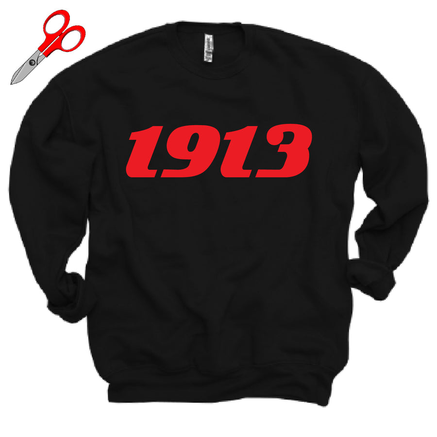 1913 Kel Fleece OVERSIZED Sweatshirt