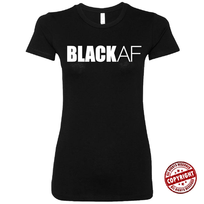 Short Sleeve BLACKAF Ladies Tee