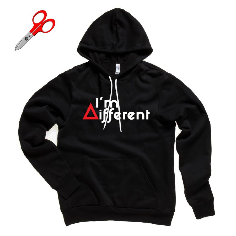 I'm Different Fleece Hoodie