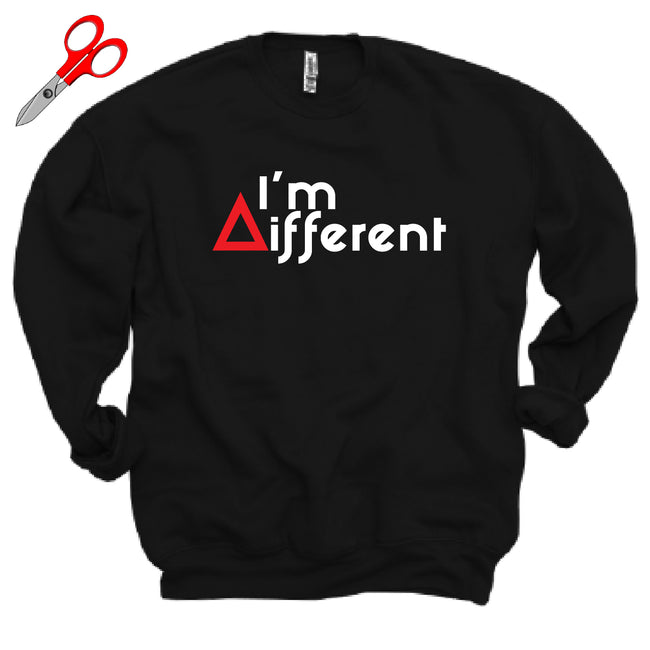 I'm Different Fleece OVERSIZED Sweatshirt